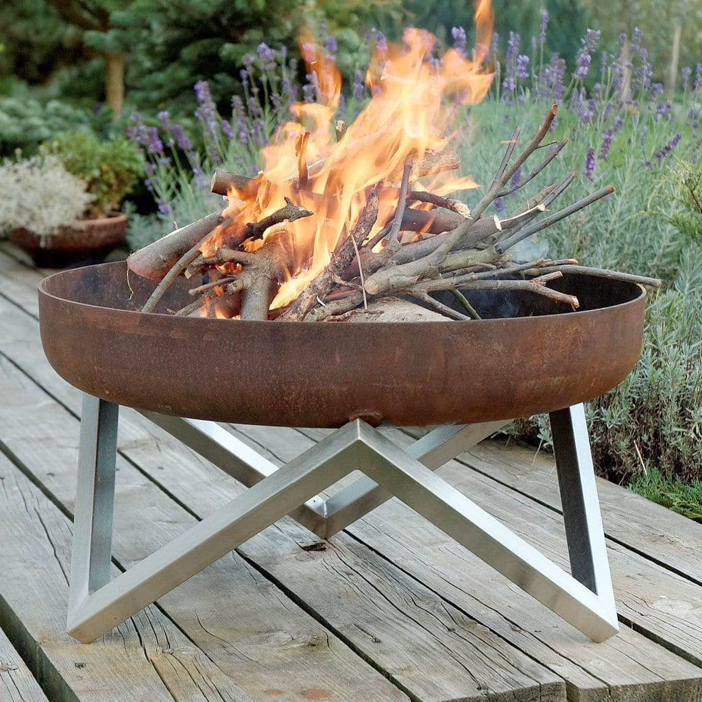 Image of: Yanartas Fire Pit Fire Pits And Barbecues From Arpe Studio Uk