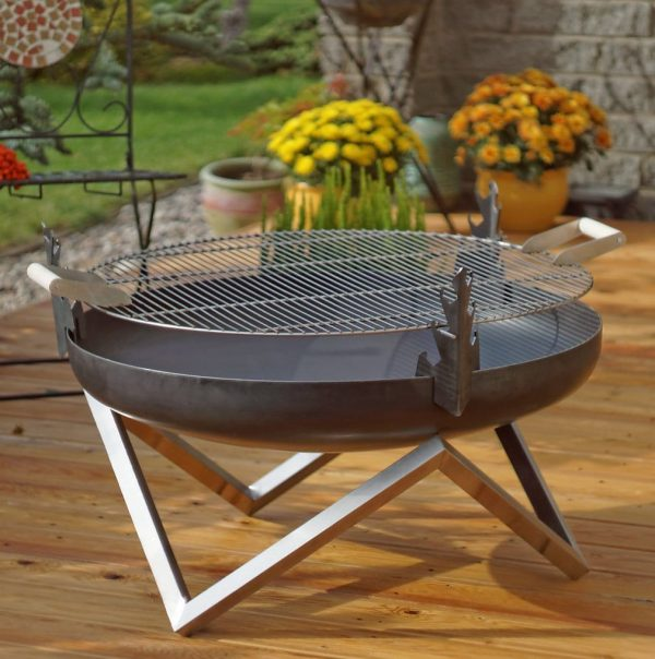 Grill for 79cm diameter fire pit