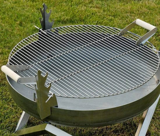 Barbecue grill for 63cm fire pit