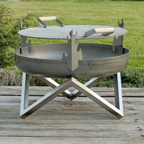 BBQ Grill on 63cm fire pit