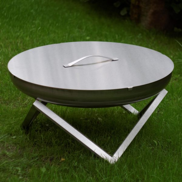 79cm stainless steel fire fit Yanartas with stainless steel lid