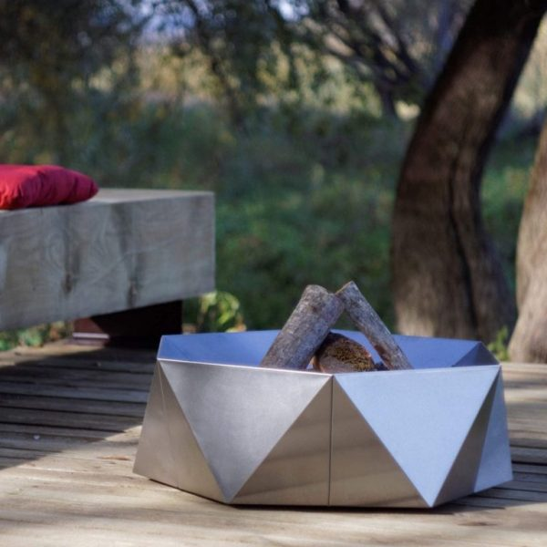 AGON STAINLESS STEEL FIRE PIT