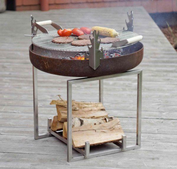 BBQ & Fire Pit Cube