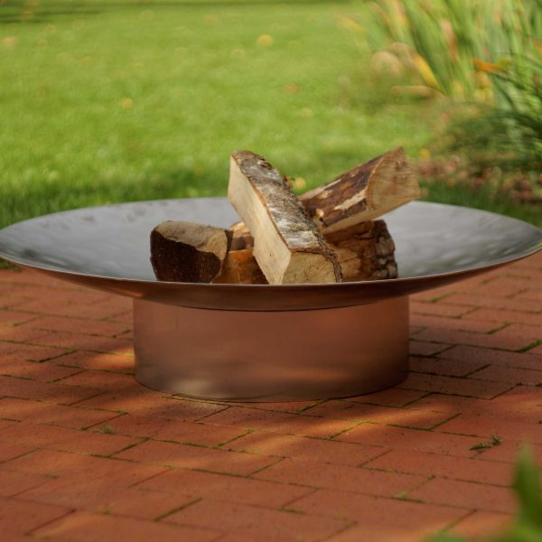 HESTIA STAINLESS FIRE PIT