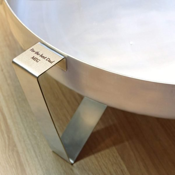 PERSONALISED STAINLESS FIRE PIT ETNA