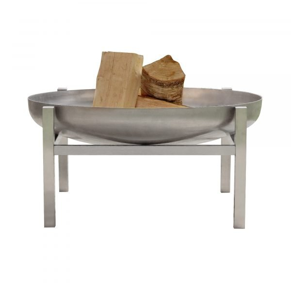 Stainless Steel Crate Fire Pit - 79cm diameter