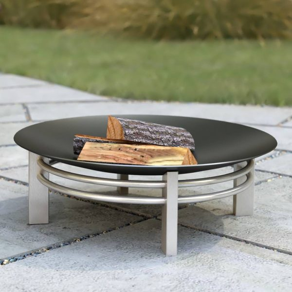 URA (EDGE) FIRE PIT – Rusting steel
