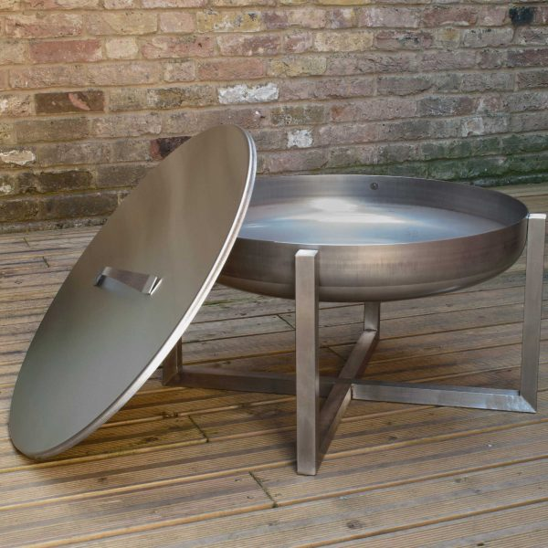 STEEL LID FOR FIRE PIT